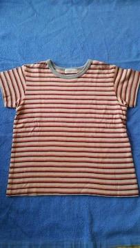 美品★TINKERBER  ボーダ−Tシャツ110