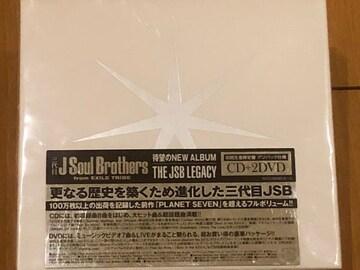 激レア☆JSoulBrothers/THEJSBLEGACY☆初回盤/CD+2DVD新品未開封