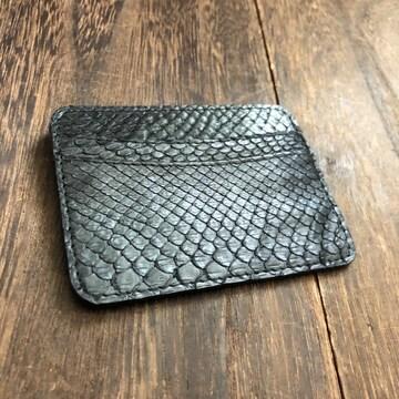 パイソン(ニシキヘビ)カードケース パスケース ICカード