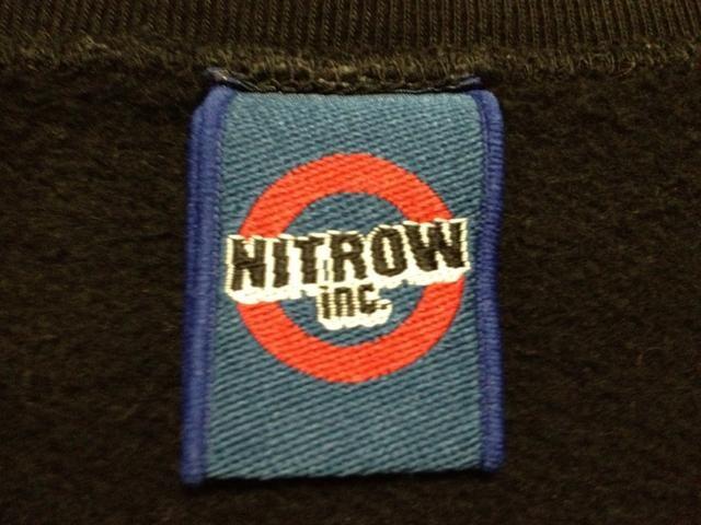 《nitrow》スウェット ナイトロウ nitraid ナイトレイド FAT < ブランドの