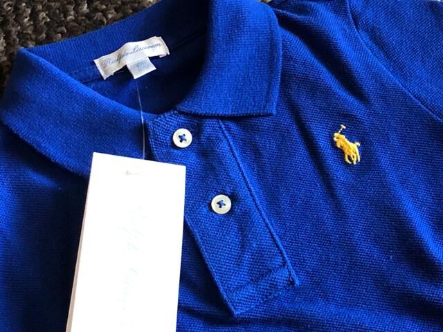 新品☆RALPH LAUREN(ラルフローレン)刺繍入り半袖ポロシャツ☆ < ブランドの