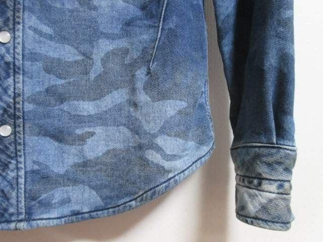 1PIU1UGUALE3 RELAX×ナンバーナイン フード付き カモフ柄 スウェットシャツ/メンス/S < ブランドの