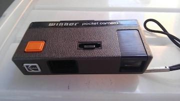 コンパクトカメラ Kodak winner pocket camera アンティーク