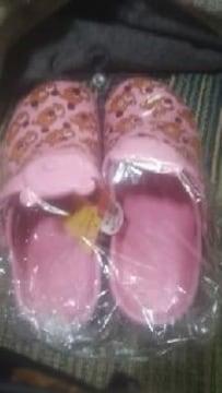 リラックマ【プリントサンダルS】ピンク