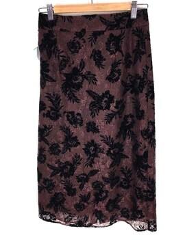 TOCCA(トッカ)Flockey Lace レース フレアスカートタイトスカート